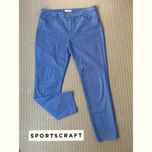 Sportscraft Cle Blue Mid Rise Slim Jeans AU14